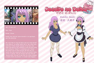 DnD Profile Kumiko Saeki by Mikaja-chan