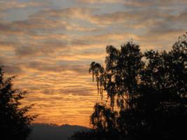 sky on fire by MAEssence