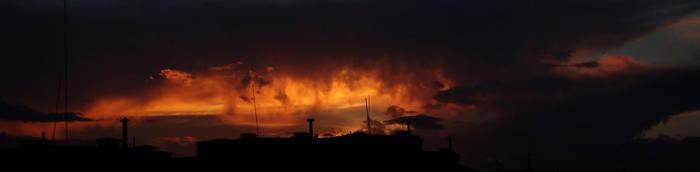 Burning Sky by happybg
