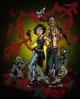 Zombie Valentine by Whynotfly