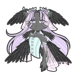 Goth/Cat/Spring/Human/Wings   Request #25 by poartto-7733