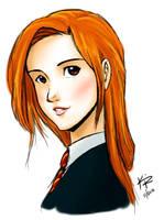 Ginny Weasley by kra