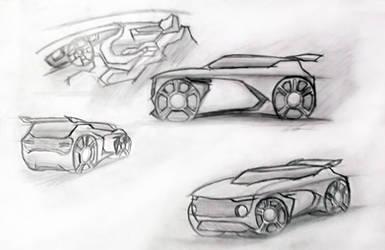 bC | Car Design | Sketch by jandyaditya