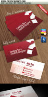 Redish Creative Business Card by squizmo