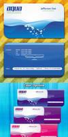 Aqua Creative Business Card -PSD- by squizmo