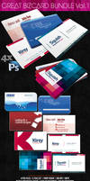 Great Business Card Bundle 4 in 1 -PSD- by squizmo