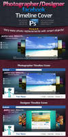 Photographer / Designer Facebook Timeline Cover by squizmo