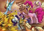 300 ponies by Flick-the-Thief