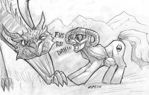 MLP: Skyrim by Flick-the-Thief
