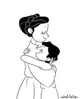 baby ben and moma by wind-turtur