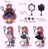 Official Venus outfits by wind-turtur