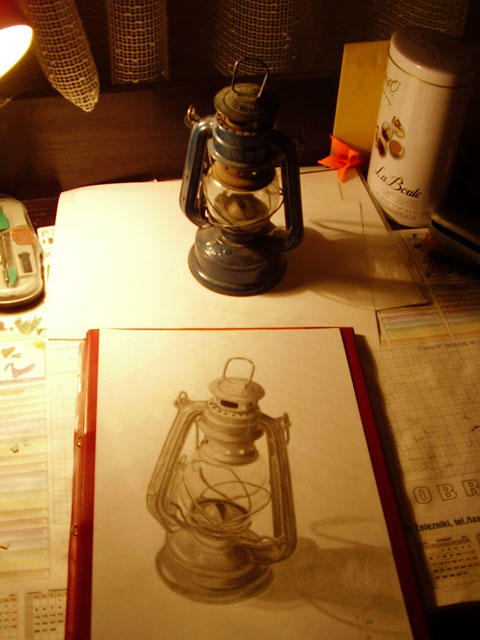 Oil lamp reference by nelchee