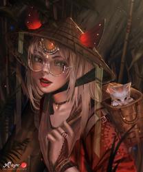 Rina[ Kaminari contest ] by A1AYNE