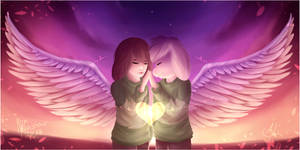 [Speedpaint] The Fallen Angel - Collab with Jonz by Alinishia