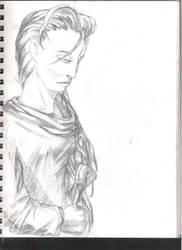 Sketchbook Drawing by AwkwardMage