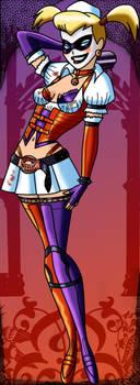Harley Quinn Arkham Asylum by AtlasMaximus