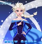 Elsa, the Snow Queen by AtlasMaximus