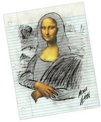 Mona Lisa by jdhancock