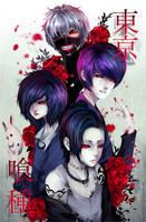 Tokyo Ghoul by Byakurin