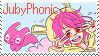 JubyPhonic Stamp by Sketchloid