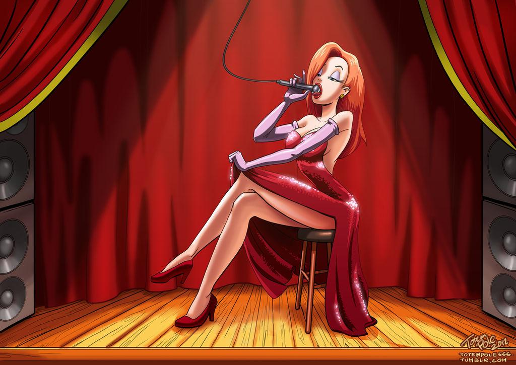 Jessica Rabbit commission by myszowor