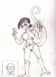 Sexy Pose For Rhiam by Reptillicus