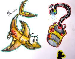 B-K beasties by DracoPhobos