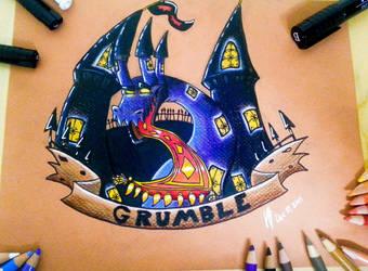 Grumble Castle by DracoPhobos