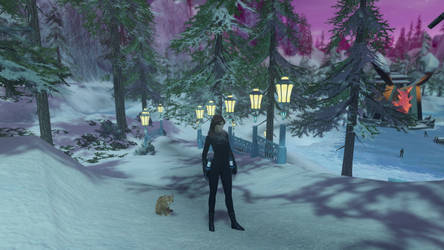 Candy in Winter Clothes (Star Trek Online) by suburbantimewaster