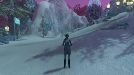 T'Mara in Winter Wonderland (Star Trek Online) by suburbantimewaster