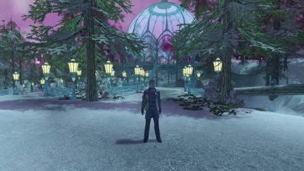 Defoli in Winter Wonderland (Star Trek Online) by suburbantimewaster