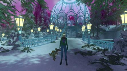 Bianca in Winter Wonderland (Star Trek Online) by suburbantimewaster