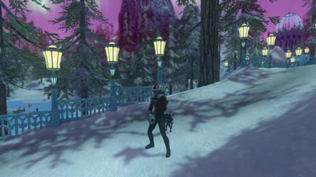 Ixat'Uklon in Winter Wonderland (Star Trek Online) by suburbantimewaster