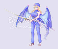 Elly Dragon by BlueMagenta