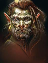 Goblin head by AliceSad