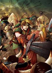 Zelda Colored by dronio