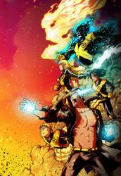 New Mutants fanart by dronio