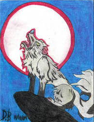 silver fang by werewolfking1234