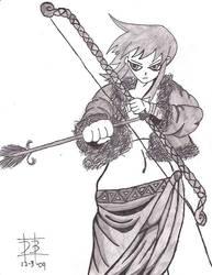 amazon archer by werewolfking1234