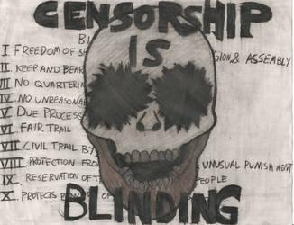 anti-censorship propaganda by werewolfking1234