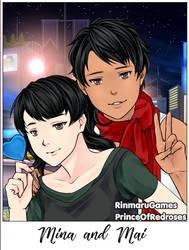 Mina and Mai by spacebunny1