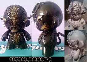 Bisonix Munny by Tenshi-voodoo