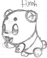 Fakemon: Fixoh by DigitalFlareon