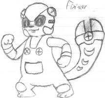 Fakemon: Fixineer by DigitalFlareon