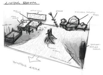 Dalia Wydman's Argo room_Living room by dimodee