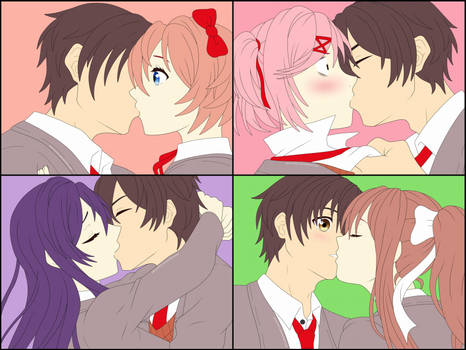 MC x Everyone Kissing by Remchi301
