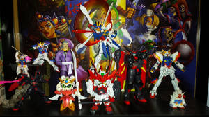 My gundam collection by firedragonpunch