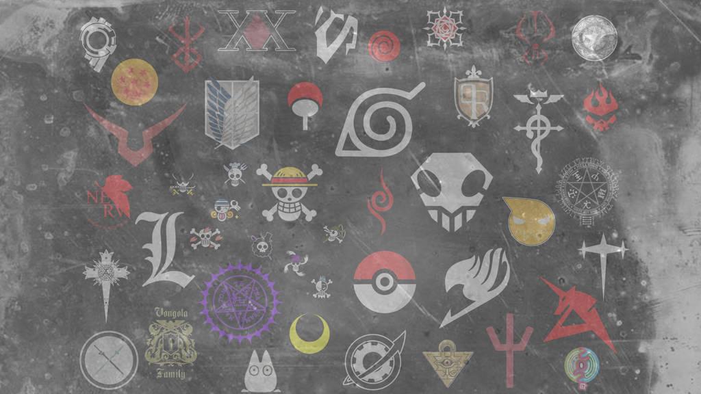Anime Logo Wallpaper By Rocketchouette