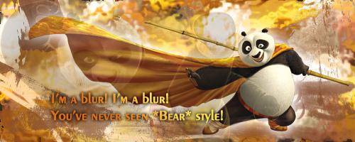 Kung Fu Panda by akyag