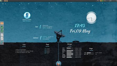 Linux Mint Desktop by akyag